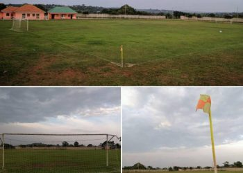 The current state of the Kavumba pitch. (PHOTOS/COURTESY)
