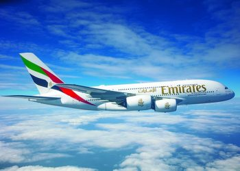 his marks the return of Emirates' flagship aircraft on scheduled services since the pandemic forced the temporary grounding of the airline's passenger fleet in March (PHOTO/File)