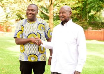 President Yoweri Museveni has met with comedian Salvado (PHOTO/PPU)