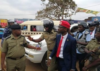 Bobi Wine transferred from Kasangati Police Station (PHOTO/Courtesy)
