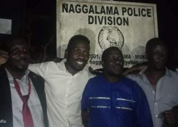 Bobi Wine and other leaders have been released after hours in Police cells (PHOTO/Courtesy).
