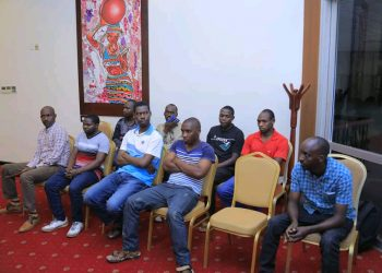 The seven released Rwanda nationals handed over to their country (PHOTO/Courtesy).