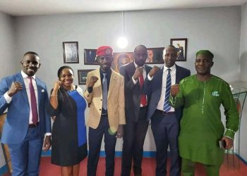 Bobi Wine has on Thursday met with Electoral Commission and police as his meetings were earlier cancelled (P