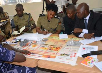 Some of the officers attending the training on Friday in Kampala (PHOTO/Courtesy).