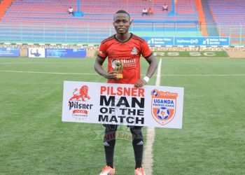 Paul Mucureezi was named man of the match in Vipers SC victory over Kyetume FC on Friday. (PHOTO/Vipers SC)