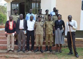 Police lecture local leaders on community policing (PHOTO/Courtesy).