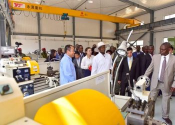 President Yoweri Museveni said the Uganda Industrial Research Institute has an equipped and ready operationalization home in Namanve Industrial Area (PHOTO/PPU)