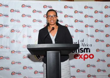 Uganda Tourism Board C.E.O Lily Ajorava. (PHOTO/Courtesy)