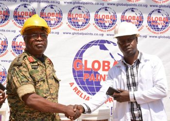 Mr. Bashir Lweese the production Manager of Global paints