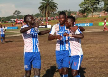 Madondo (R) and Zirintusa (C) both left Busoga United FC in January.
