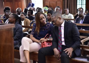 City businessman Mathew Kanyamunyu and his girlfriend Cynthia (PHOTO/File)
