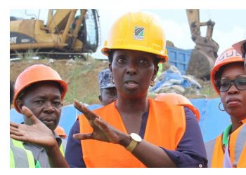 UNRA Executive director Allen Kagina stresses a point recently (PHOTO/Courtesy)
