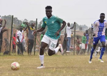 Action between Onduparaka FC and Busoga United FC on Tuesday. (PHOTO/Onduparaka)
