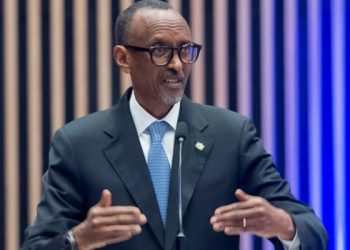 President Paul Kagame said he is not yet comfortable to allow his people to come to Uganda (PHOTO/Courtesy).