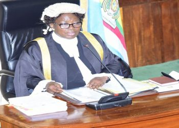 Kadaga said the law should protect performing artists. (PHOTO/Courtesy)