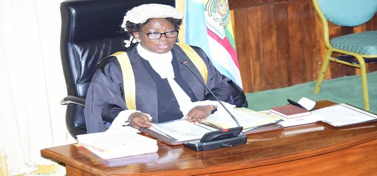 Kadaga said the law should protect performing artists. (PHOTO/Courtesy)