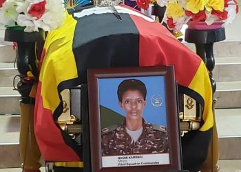 UPDF pilot Karungi died in a helicopter crash this week in Mpigi (PHOTO/Courtesy).