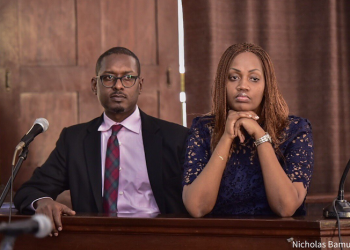 Mathew Kanyamunyu and his girlfriend Cynthia Munwangari (PHOTO/File)