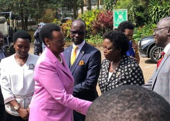 The Minister of Education and Sports, Janet Museveni has condemned schools that carry out pre-registration exams (PHOTO/Courtesy)