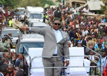 President Peter Mutharika. Political violence is on the rise in Malawi ahead of poll ruling (Political violence is on the rise in Malawi as the country prepares for May elections (PHOTO/Agencies)