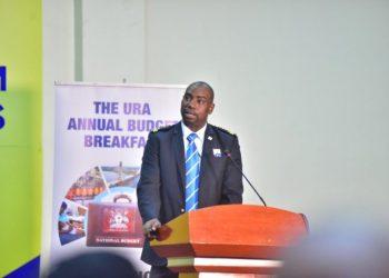 URA Commissioner for Customs, Mr Dicksons Kateshumbwa