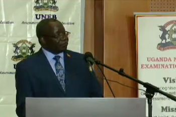 Dan Odong, UNEB Executive Secretary says Of the 337,720 students who sat the UCE 2019 exams, 144,256 were USE beneficiaries.