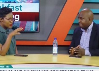 Head of PR and Communications at UCC, Mr. Ibrahim Kibuuka Bbossa, says operators give licenses to agents to register sim cards, therefore, they have to put checks and balances to ensure that they do the right thing (PHOTO/Screen grab).