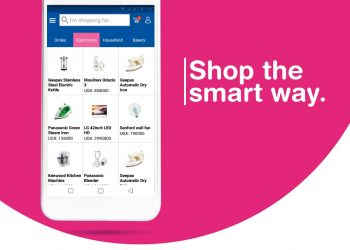 The shoppers only need to download an online application KENJOY RETAIL from Google play store on their mobile phones to enjoy the new shopping experience (PHOTO/File)