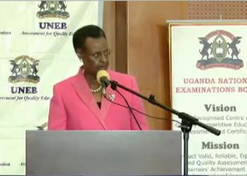 Education miniister Janet Museveni will  UCE exams  on Friday (PHOTO/File)
