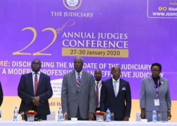 The 22nd annual judges conference is underway at Mestil Hotel in Kampala (PHOTO/Courtesy)