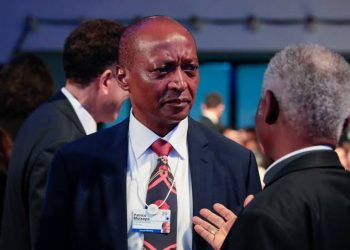 South African billionaire Patrice Motsepe has apologized for telling Trump Africans love him (PHOTO/File)