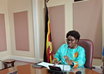 Speaker Kadaga has demanded for a chopper to do Parliament worker (PHOTO/File)