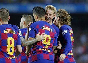 Barcelona defeated Valencia 5-2 in the first meeting this season. (PHOTO/Courtesy)