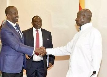 Museveni made the pledge after the Great Lakes Region Private Sector Forum Chairman Richard Ngatia paid him a courtesy call at State House, Entebbe-Uganda.