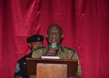 Inspector General of Police Martin Okoth Ochola