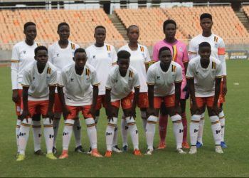 The Ugandan team that started against Tanzania on Sunday. (PHOTO/Courtesy)