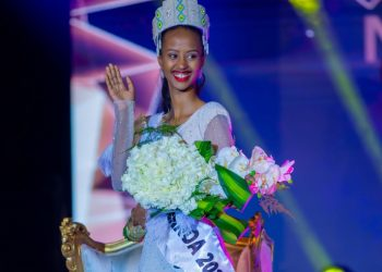 Naomie Nishimwe has been crowned Miss Rwanda 2020 amidst tight competition from 19 finalists (PHOTO/Courtesy)