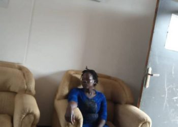 Ms Evelyn Atuhairwe is being detained at Katwe police Station on charges of giving false information