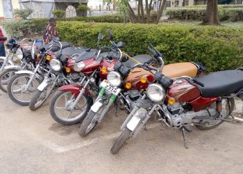 The recovered 7 Motorcycles. (PHOTO/Courtesy)