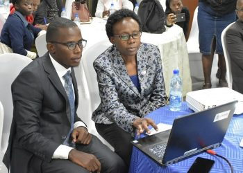 Minister of Health, Hon.  Dr. Jane Ruth Aceng noted that the Government of Uganda is cognizant that health workers work in the most resource constrained settings (PHOTO/PML Daily)