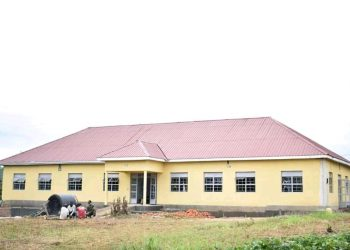 Nakaseke health centre lll which was refurbished by UPDF (PHOTO/Courtesy).