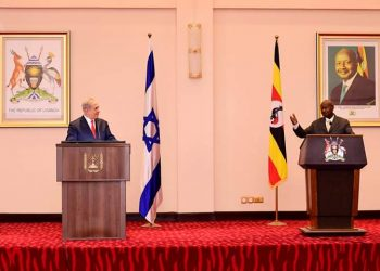 President Yoweri Museveni and Israeli PM Netanyahu agreed on direct flights between Tel Aviv and Kampala (PHOTO/PPU)