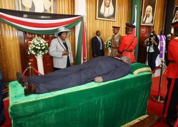 Kenya Ex-president Moi