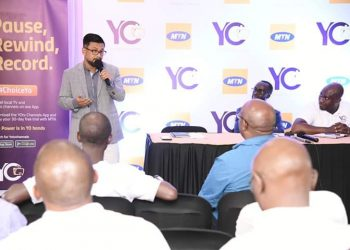 MTN Uganda Chief Marketing Officer Somdev San said the partnership is Win Win for both YoTV channels and MTN customers (PHOTO/PML Daily).