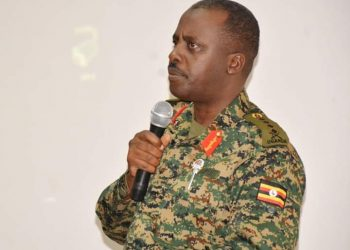 CDF Gen David Muhoozi is linked to woes in the National Unity Platform (PHOTO/File)