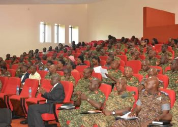 CDF meets army senior leaders at UPDF headquarters in Mbuya (PHOTO/PML Daily)