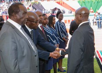 President Museveni said President Moi was a true Pan African who loves the region and the Country (PHOTO/PPU)