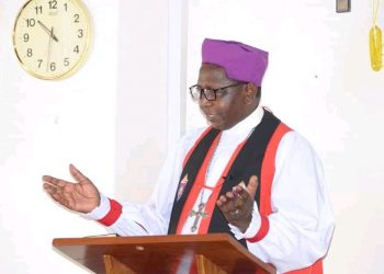 The Archbishop of Church of Uganda