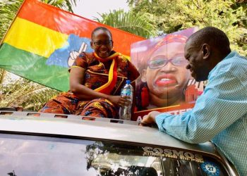 Dr. Stella Nyanzi and Dr Kizza Besigye