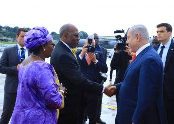 Israel Prime Minister Netanyahu in Uganda to meet regional leaders (PHOTO/File)